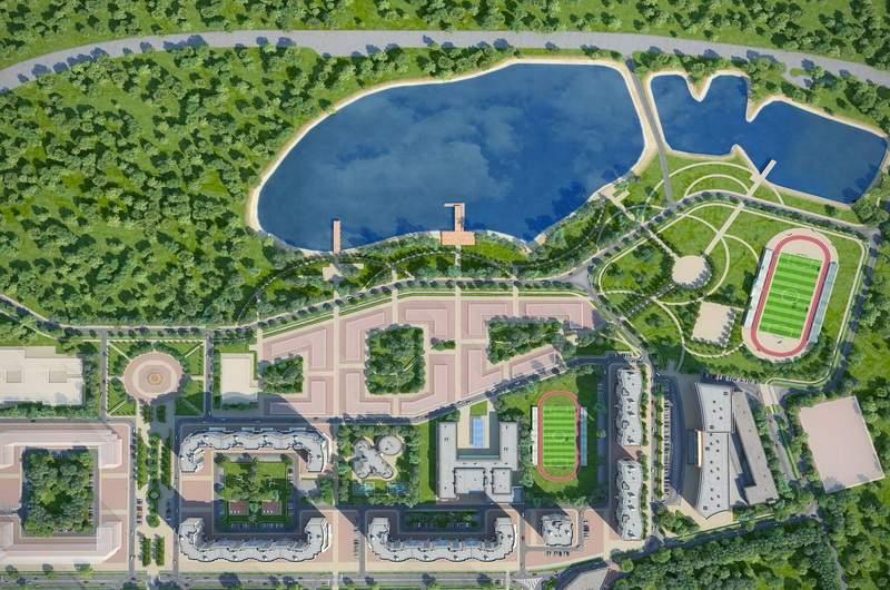 Жилой комплекс Лидер Парк